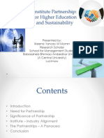 Industry Institute Interface