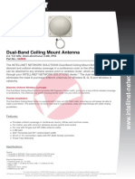 Dual-Band Ceiling Mount Antenna