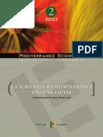 La Agricultura Mediterránea Del Siglo XXI
