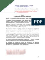 Ley Ambiental Proteccion Tierra 08-09-2017