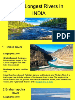 Top 10 Longest River in the India