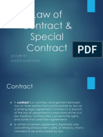 Law of Contractss (1)