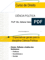 Power Point de Ciência Política- Prof Adriana