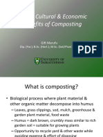 COMPOSTING FOOD WASTES