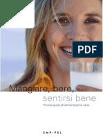Opuscolo Sull Alimentazione Mangiare Bere Piccola Guida All Alimentazione Sana 143157 It