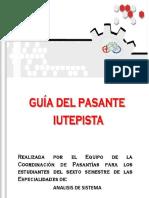 Guia para Análisis de Sistema para Elaboracion Del Informe Final de Pasantias 2016