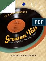 UP ABAM Week Partnership Proposal
