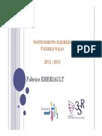soutènement flexibles 2013