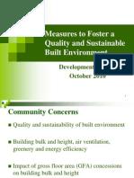 Power Point - Built Environment (Eng)