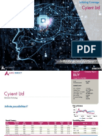 analysis of cyient