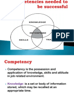 Competencies Needed to Be Successful (2)