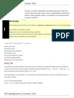 PET Speaking Practice Test.doc