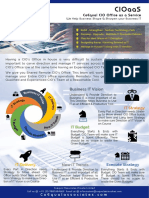 ITaaS Catalogue Poster