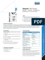 Vetonit Doc Technical Map en 2715