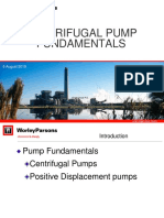 Centrifugal Pump Fundamentals