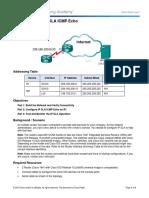 4.13.1.3 Lab - Configure IP SLA ICMP Echo.docx