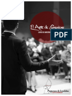 Taller de Oratoria Profesional. Comunicación Para El Éxito