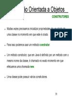 Exercícios POO 2 - Construtores