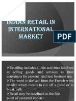 Indian Retail in International Market