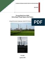 Dampak PLTU Tanjung Jati B ke Lingkungan