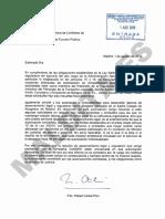 Comunicaciones entre Rafael Catalá y la Oficina de Conflictos de Intereses sobre su incorporación a Codere