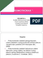 ppt pneomotorax