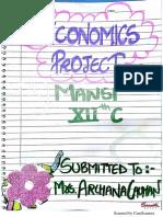 PROJECT ON GST CLASS 12 ECONOMICS