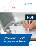 """Whitelist"" of VAT taxpayers in Poland"