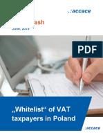 """Whitelist"" of VAT taxpayers in Poland"