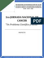 1ra jornada nacional de cancer