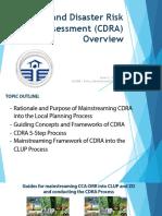 CDRA Overview