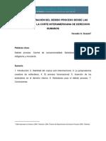 2 ART. GOZAINI DEFINITIVO Estructuración Del Debido Proceso Desde Las Sentencias de La Corte Interamericana de Derechos HumanosCC