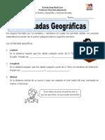 Guia Historia Coordenadas Geográficas
