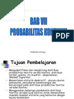9746_Kuliah-6. Distribusi Teoritis Variabel Acak Kontinu.ppt