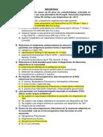 Cuestionario de Medicina Interna