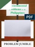 LESSON 3 - Environmental Problems