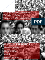Aula - Sistema de Saúde No Brasil