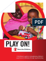 Play on! A facilitator's guide to strengthening children's psychosocial wellbeing through toy-based play