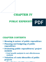 Public Finance Chapter 4