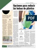 Opciones Para Reducir Las Bolsas de Plástico