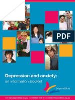 Depression and Anxiety an Information Booklet