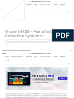 O Que é MES – Manufacturing Execution Systems_ – PPI-Multitask
