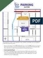 2019 Kids Fair Parking Map