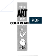 Robert Nelson - The Art of Cold Reading