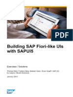 Building SAP Fiori-like UIs With SAPUI5 in 10 Exercises