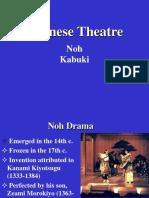 Kabuki and noh