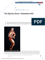 The Sporto Zone_ Yohimbine HCl _ Muscle & Strength