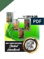 jfkhs sy2019-2020 student handbook