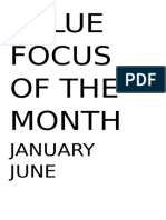 VALUE FOCUS OF THE MONTH.docx