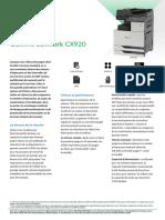 CX printers